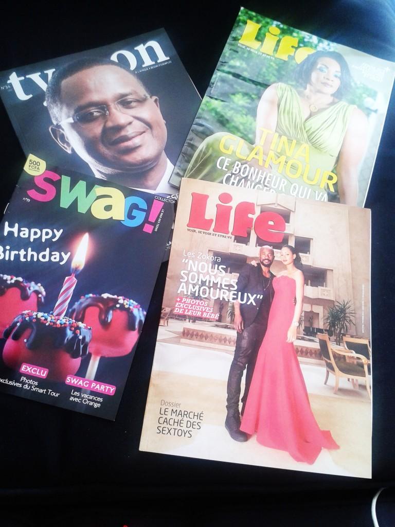 Les magazines édités par VOODOO