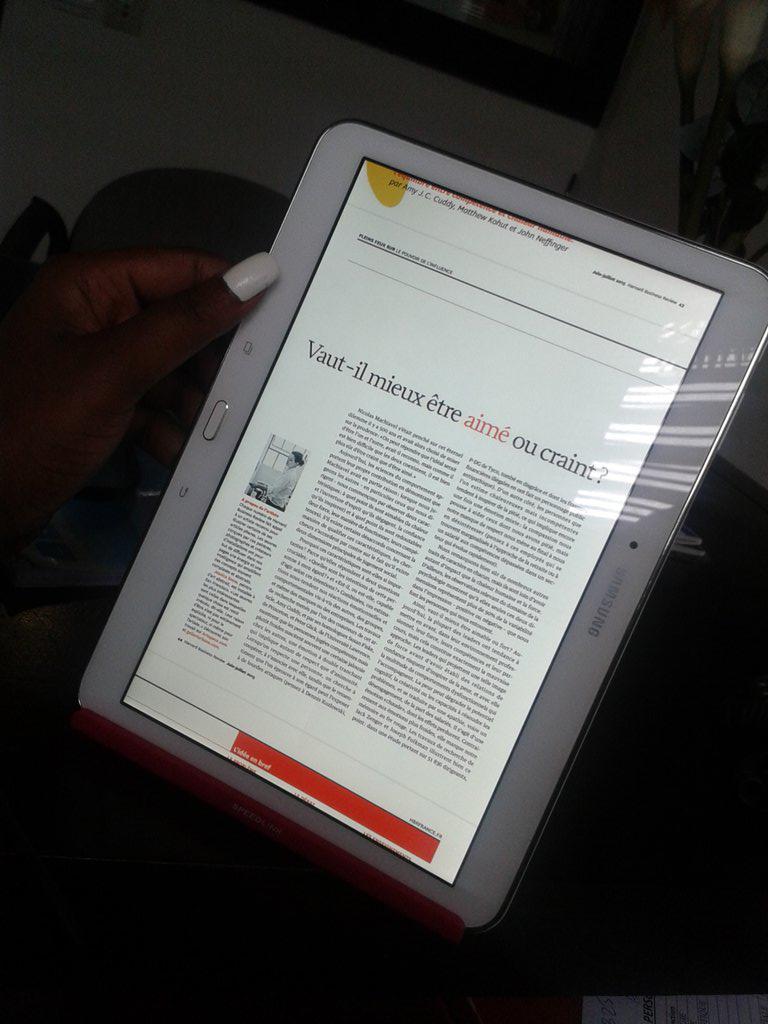Lecture d'un article issu d'un des derniers numéros du Harvard Business Review.