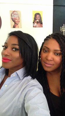 Audrey Mouangue et Ange Mbayen, co-fondatrices de Bold Make Up et et Le Beauty Bar